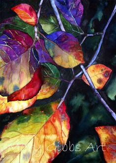 """""""Sunlit Leaves"""" ~ by Mary Gibbs"""