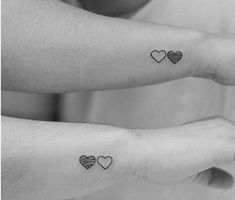 Can you think of any better way to show this bond to the outside world than getting inked matching sister tattoo designs on your skin? Tattoos are a Bff Tattoos, Mini Tattoos, Best Friend Tattoos, Couple Tattoos, Trendy Tattoos, Sleeve Tattoos, Fake Tattoos, Tatoos, Brown Tattoos