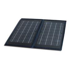 6W Folding Solar Panel.  yourcoolgifts.com