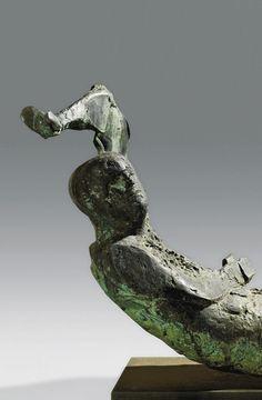 Beaux Arts Gallery - Elisabeth Frink Elisabeth Frink Dying King (Detail) 1963 Bronze Edition of 3