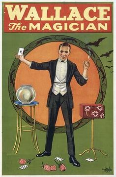 Wallace the Magician poster