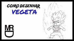Como desenhar o Vegeta Chibi (Dragon Ball)