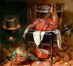 1869 Epaminondas Chiama. En la cocina, óleo s tela, 102 x 112 cm. Colección privada