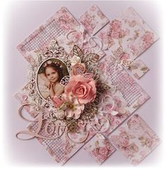 My Creative Scrapbooking: Prima Love Story Page Layout 'Love' Page Layou...