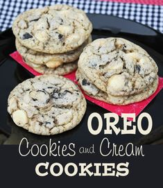 Oreo Cookies and Cream Cookies
