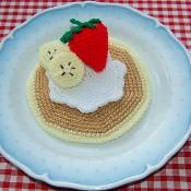 Crochet Pattern for Sweet Pancakes - via @Craftsy