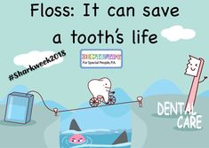 Providing quality pediatric dental care to children and teens in Cherry Hill and Turnersville, NJ. Call today to schedule your appointment at Dentistry for Special People! Pediatric Dentist, Shark Week, Special People, Dental Care, Pediatrics, Dentistry, Tooth, Teen, Children