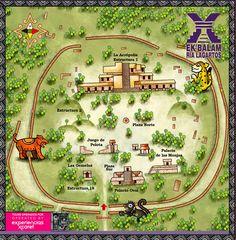 Chapter 2 - Love this map of Ek' Balam!