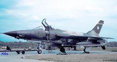 Republic F-105 Thunderchief.The F-105D, ultimate version of the all-weather tactical fighter.
