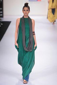 i love the colour!   Payal Khandwala at Lakme Fashion Week 2012