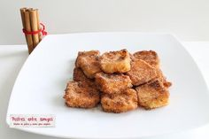 La Leche Frita es un delicioso dulce originario del norte de España, con una receta muy fácil de hacer. ¡Pruébala!  http://postresentreamigos.com/leche-frita/