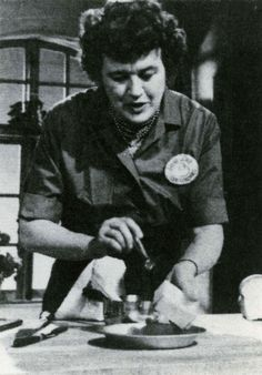 Julia Child was the person who more than anyone else brought French cooking to North American middle-class households as a TV personality and author. http://www.cooksinfo.com/julia-child