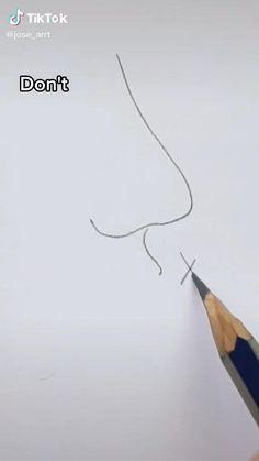 Art Drawings Beautiful, Art Drawings Sketches Simple, Pencil Art Drawings, Easy Drawings, Pencil Drawings For Beginners, Diy Canvas Art, Art Tutorials, Cute Art, Art Lessons
