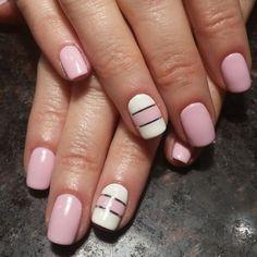 Diseños de uñas sencillos y muy lndos @lostruquitosdeellas #unaselegantes