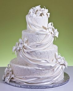 Filigree French Drape Cake by Jacques Fine European Pastries
