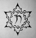 Tattoo idea    Star of David + Chai (hebrew word for life)