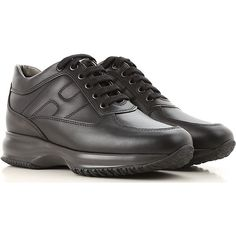 Hogan Shoes and Sneakers from the Latest Collection. Hogan Women's Shoes are available online in a wide selection at the Raffaello Network Store. Winter Sale, Fall Winter, Tennis, Fashion Details, Bag Making, All Black Sneakers, Dust Bag, Lace Up, Bags