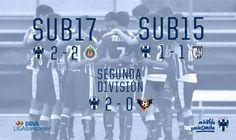 ⚽️📝 '#Rayados Segunda División y #Sub17 mantienen buena racha' 👉