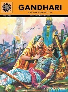 Indian Epics: Amar Chitra Katha : Guide: Gandhari