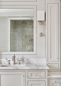 Custom Cabinetry, Bathroom Designs, Plumbing, House Tours, Bathrooms, Drawers, Designers, Hardware, House Design