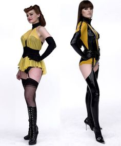 Silk Spectre I (Sally Jupiter) & II (Laurie Juspeczyk)