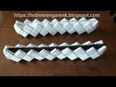 Paper bag-Sew on zipper Diy Paper Bag, How To Make A Paper Bag, Paper Bag Crafts, Paper Bag Album, Brown Paper Bag Floor, Origami Wallet, Paper Bag Flooring, Paper Grocery Bags, Paper Bag Puppets