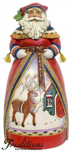 JIM SHORE OLD FASHIONED HOLIDAY SANTA | Merry HoHo! | Pinterest