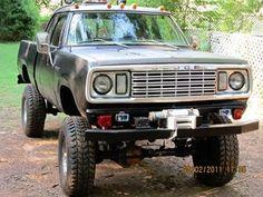 Dodge Ram lifted truck