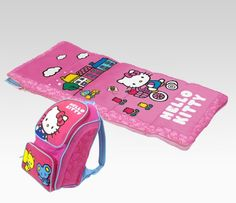 Hello Kitty Sleeping Bag: Camping  $24.95