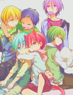Kuroko no Basket...Like kids...CUTE!!!! (EXPLOSION)