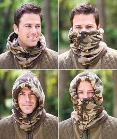 4-In-1 Fleece Hoods ABC Distributing