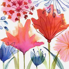 Spring Garden © Margaret Berg www.margaretbergart.com