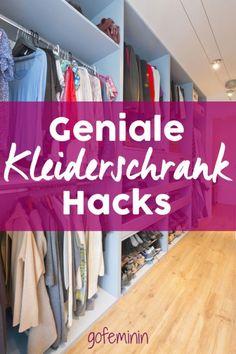 Kleiderschrank Ordnung Hacks