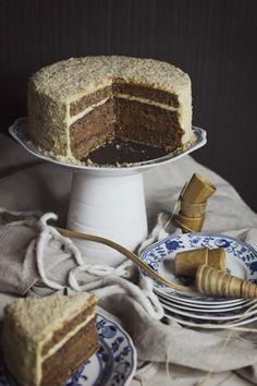 Cake Recept, Food Photography Lighting, Vanilla Cake, Tiramisu, Food And Drink, Cooking, Ethnic Recipes, Cakes, Pies