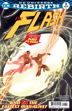 """LIGHTNING STRIKES TWICE"" part eight! When Godspeed brings his killing spree to Iron Heights, Barry Allen must protect his own Rogues Gallery—including his mother's killer—from the deadly speedster! L"