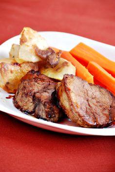 Skinny Slow Cooker Pork Tenderloin