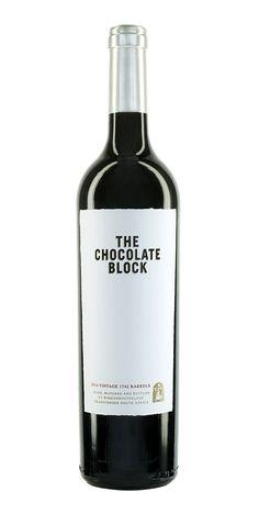 Zartbittere Südafrikanische Schokolade - #Boekenhoutskloof #ChocolateBlock