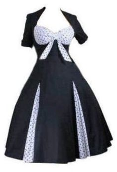 7078dabef71 Polka Dot Sweetheart Pin-Up Rockabilly Party Swing Jive Bunny Dress.  Regular   Plus Sizes Clothing Covers my crappy arms!
