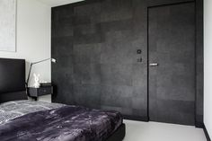 Dark wall_CC /_ CONCRETE CONCEPT by KASIA ORWAT home design | Home Adore