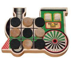 Endeavour Toys - Maple Landmark Tic-Tac-Toe-Toot