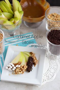 Pint Sized Baker: Easy Caramel Apples and Slices
