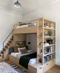 This particular white bunk beds is honestly a remarkable style technique. - This particular white bunk beds is honestly a remarkable style technique. This particular white bunk beds is honestly a remarkable style technique. Room Design Bedroom, Girl Bedroom Designs, Room Ideas Bedroom, Home Room Design, Small Room Bedroom, Master Bedroom, Modern Bedroom, Loft Design, Contemporary Bedroom
