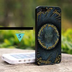 Lord Of The Rings tree Logo - For iPhone 5 Case Hard Cover | onlinecustomshop - Accessories on ArtFire