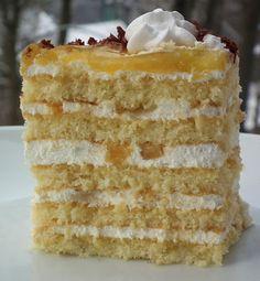 """Для влюблённых в торты и не только...: Торт """"Яблочное пюре"""" или Apfelmustorte"""