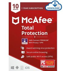 McAfee Total Protection helps you protect your device and data from various malicious content found online. To purchase or renew, visit secure-buyings.com #NortonInternetSecurity #McAfeeInternetSecurity #WebrootSecureAnywhereAntiVirus #Securebuyings Norton Security, Norton Internet Security, Password Manager App, Digital Data, Antivirus Software, Parental Control, Home Network, Cool Things To Buy, Stuff To Buy