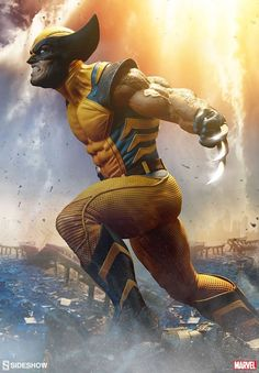 ''Wolverine X Men'' Yellow Suit Keep the OG Suit? in the X-Men Pics Better than the Black One? Marvel Dc Comics, Wolverine Comics, Logan Wolverine, Marvel Vs, Marvel Heroes, Wolverine Tattoo, Wolverine Poster, Comic Book Characters, Marvel Characters