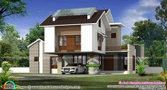 2738 sq-ft simple contemporary home