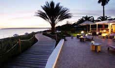 Gecko Beach Club, Formentera. Precioso hotel con vistas espetaculares.