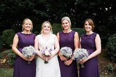 Here are real wedding pics from Kayleigh & Matt Jordan.<3  Kayleigh's review: I ordered my bridesmaid dresses for our wedding on 2nd September 2016 in Hartley Wintney, UK. We just wanted to send you a few photos to show you how beautiful the dresses looked on our special day and to say a big thank you for all of the support throughout the ordering process.