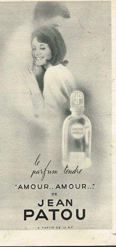 1962 Parfum Eau de Cologne Amour Amour Jean patou